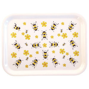 Serving Tray, Bees
