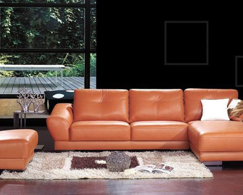Corner Sectional Sofas Genuine Italian Quality Leather LShape - Real leather sectional sofa