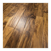 Acacia Hand Scraped Prefinished Engineered Wood Flooring, Sample