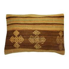 Brown Kilim Cushion
