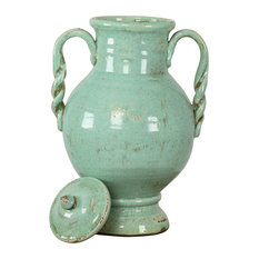 Blue Pottery - Distressed Blue