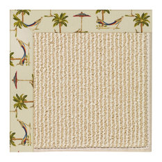 Capel Custom - Creative Concepts 2009 Border 2009 - 4ft 0in x 4ft 0in Beach Sisa