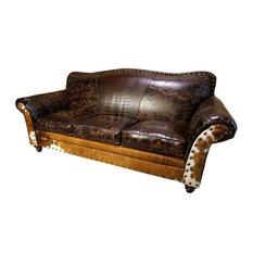 """""""Cabin Fever"""" 3 Cushion Sofa"""