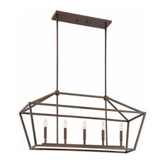 Millennium Lighting 3245 5 Light Linear Pendant