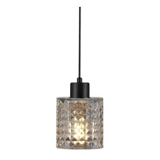 Hollywood Glass Pendant Light, Clear
