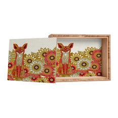 Sharon Turner Garden Fox Storage Box