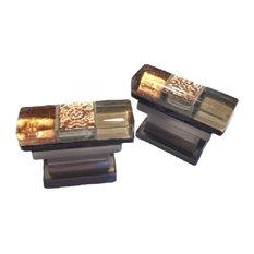 Copper Creek Cabinet Knob, Satin Nickel