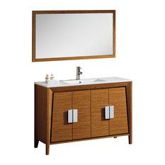 midcentury bathroom vanities | houzz