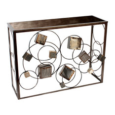 3-D Cubes Console Table