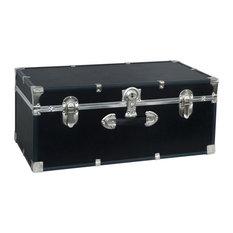 """Seward Essential 30"""" Trunk with Lock, Black"""