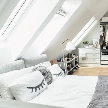 Houzzbesuch: Eine helle Dachgeschosswohnung im Herzen vom Hamburg Eimsbüttel