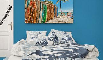 Surfing Cali Kids Surfer Comforter