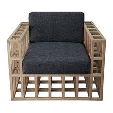Quadrant Chair Unfinished, Oak