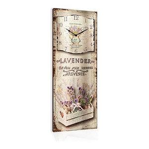 Lavender Savon Wooden Wall Clock