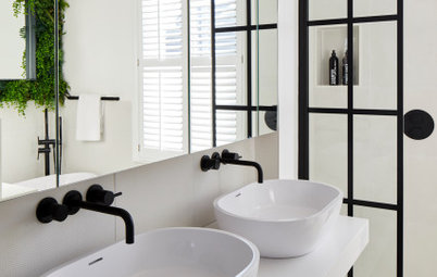 Room Tour: Clever Design Creates Two Bathrooms From One