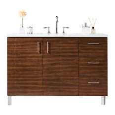 "Metropolitan 48"" American Walnut Single Vanity"