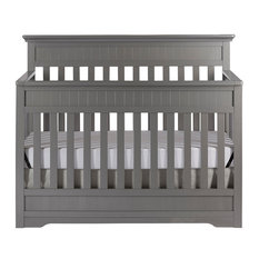 dom family chesapeake 5in1 convertible crib storm gray cribs