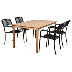 Transitional Outdoor Dining Sets by Homesquare