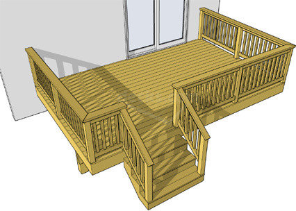 Deck plans free to download Wood deck designs free