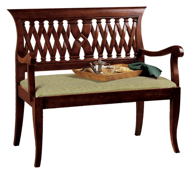 The Wren Mahogany Bench