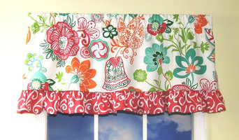 Razzle Dazzle Straight Valance with Ruffle
