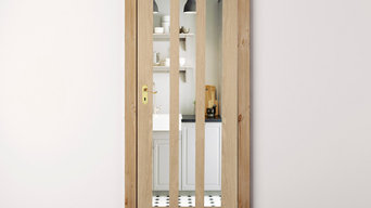 Oak Aston Clear Glass Internal Door