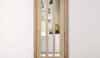 Oak Aston Clear Glass Internal Door