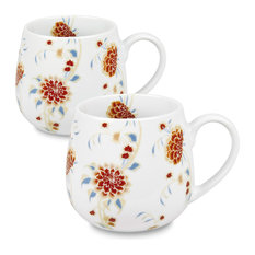 Set of 2 Snuggle Mugs Beautiful She Says