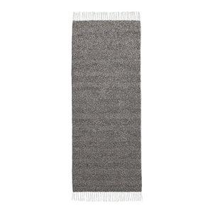 Maja Graphite Grey Vinyl Floor Cloth, 70x200 cm