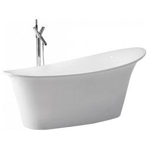 Haiti Freestanding Oval Acrylic Bath