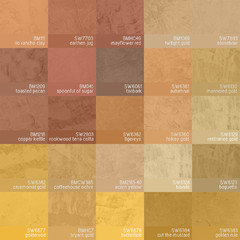 New Pantone to Sherwin Williams Cross Reference