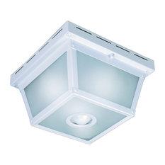 Square Ceiling Light, 360 Degrees