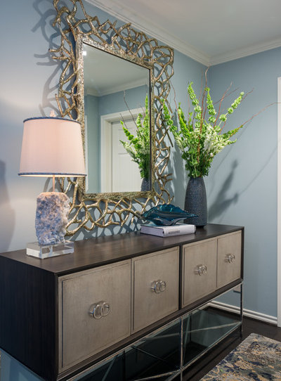 Houzz Tour Dallas Glam Meets Cape Cod Casual