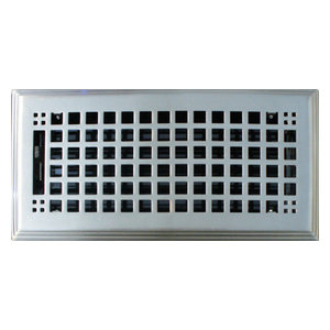 Triangular Projection Baseboard Return Grille - Contemporary
