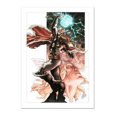 """Thor: For Asgard #3"" Art, Stan Lee, Marvel Comics"