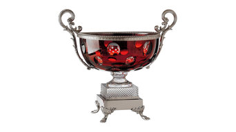 Traditional Crystal Glass Fontainebleau Bowl