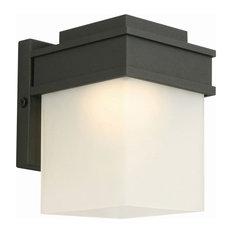 """Design House 578120 Bayfield 1 Light 6""""H Integrated LED Outdoor - Black"""
