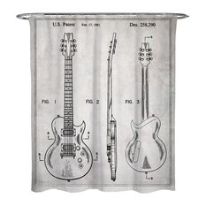 50 Most Popular Music Themed Shower Curtains For 2019 Houzz