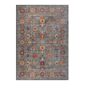 """Heritage Traditional Spice High Quality Rug, 7'10""""x9'10"""""""
