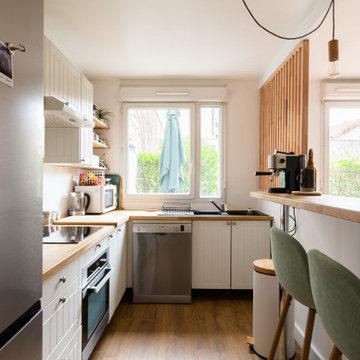 Rénovation d'une maison à Paris - Projet Blanc