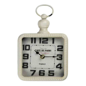 EMDE Square White Wall Clock