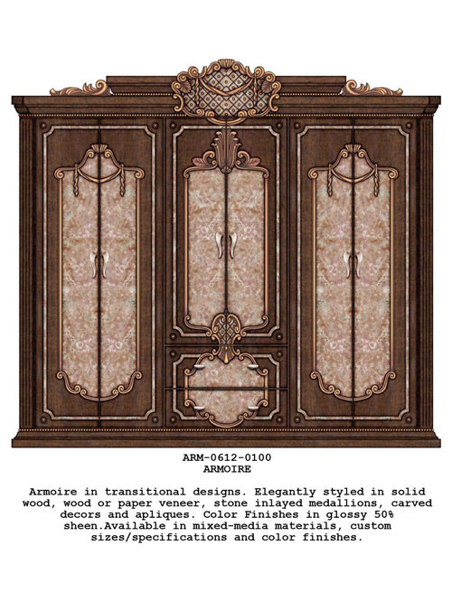 Armoires, Wall Units, etc.