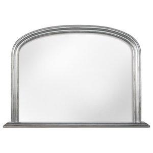 Mantel Mirror, Silver, 115x80 cm
