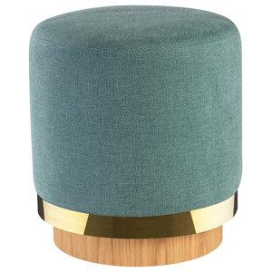 Lounge Stool, Indian Blue