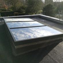 Exact Aluminium Flat Roof Light