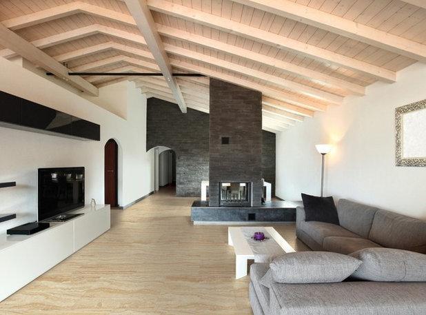 Contemporáneo Sala de estar by Superb Flooring & Design