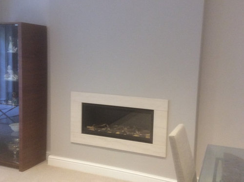 Hang painting above gas fire the fireplace is framed with a stone surround there is no mantel could the heat from the fire damage the painting would appreciate your advice publicscrutiny Images