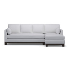Apartment size sectional sofas with a chaise houzz - Apartment size sectional sofa with chaise ...