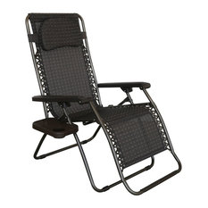 abba patio oversized zerogravity reclining patio lounge chair outdoor chaise lounges