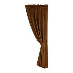 "Las Cruce Matching Curtain, 48""x84"" Copper"